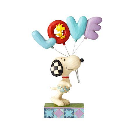 Valentine Snoopy Figure
