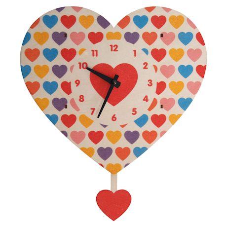 Heart Pendulum Clock