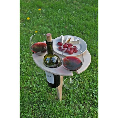 Outdoor Collapsible Wine Table