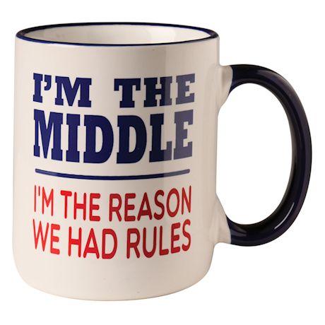 I'm The Middle Child Mug