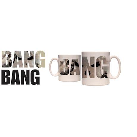 Marvel Punisher Bang Heat Change Thermochromatic Mug