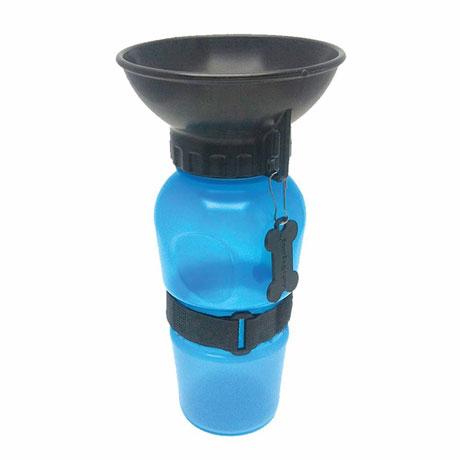 Highwave AutoDogMug - 20 oz Water Bottle for Dogs - Blue Color