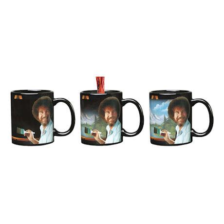 Bob Ross Heat Changing Mug - Ceramic 11 oz.
