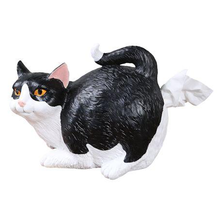 Cat Butt Tissue Holders - Black & White
