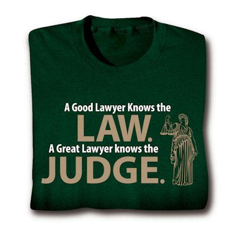 Law. Judge. Shirts