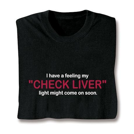 Check Liver Light Shirts