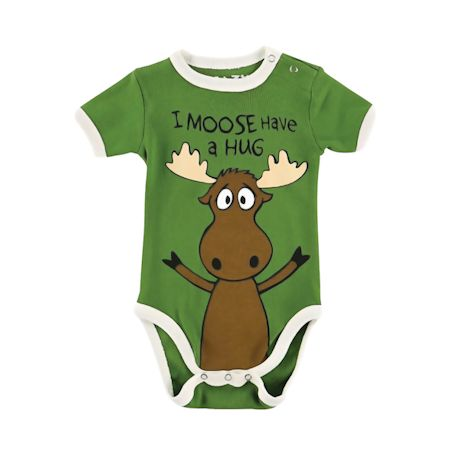 I Moose Have A Hug Baby Snapsuit