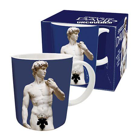 Statue of David Heat Change Mug