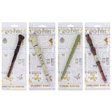 Harry Potter Wand Pens - Set of 4