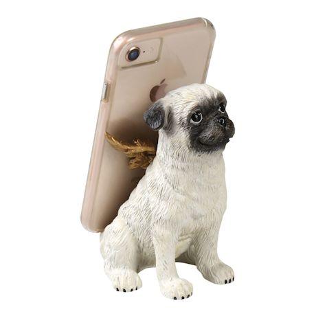 Pug Mobile Phone Holder