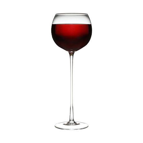 Looong- Stemmed Wine Glass