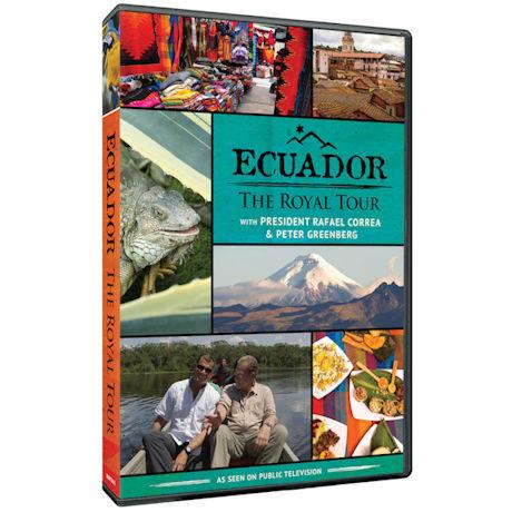 Ecuador: The Royal Tour DVD