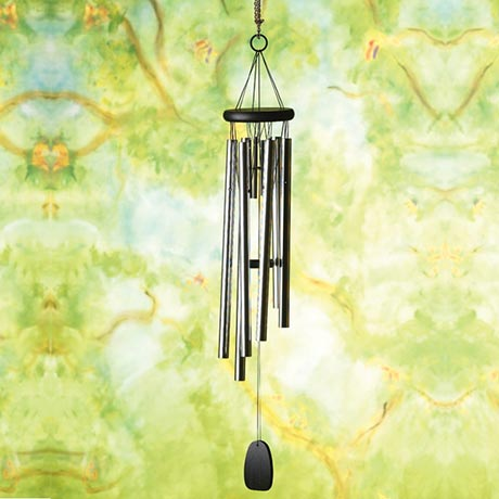 Pachelbel Canon Wind Chimes Aluminum and Bamboo