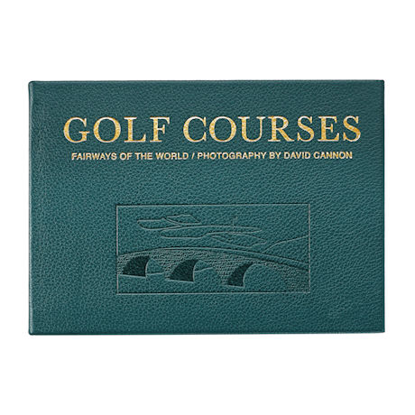 Leather-Bound Golf Courses of the World Book