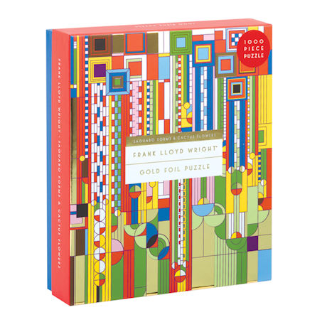 Frank Lloyd Wright® Saguaro Forms Puzzle