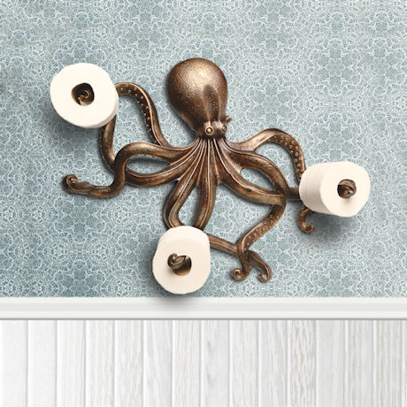 Octopus Toilet Paper Holder