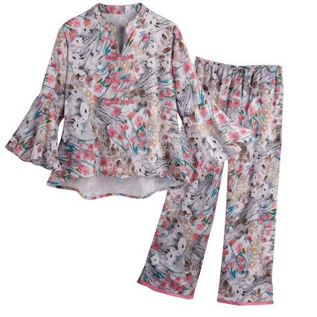 Asian Floral Pajamas