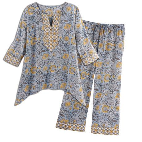 Arya Floral Pajamas