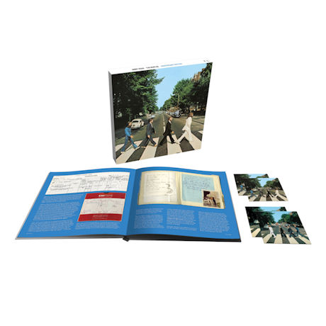 Beatles: Abbey Road 50th Anniversary Super Deluxe Edition (3CD/1Blu-ray)