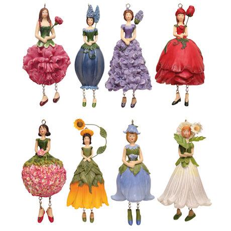 Flower Lady Ornaments