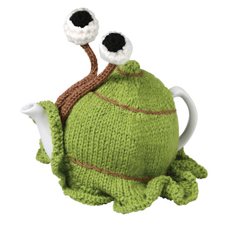 Hand-Knitted Snail Tea Cozy