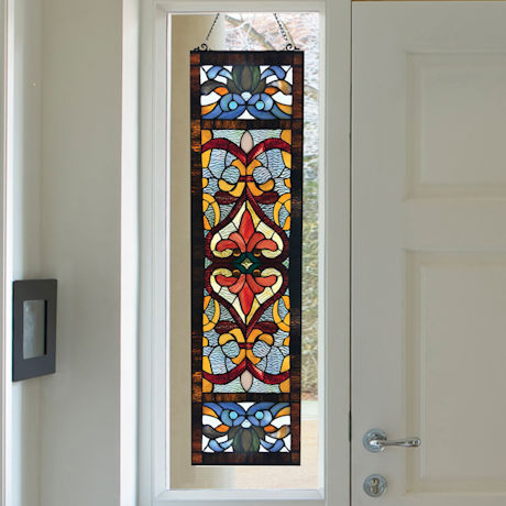 Moorish Stained Glass Window Panel