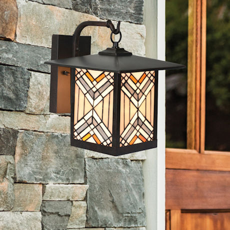 Mission Style Outdoor Wall Light