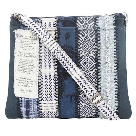 Your Journey Indigo Crossbody Bag