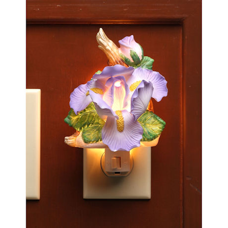 Irises Night Light
