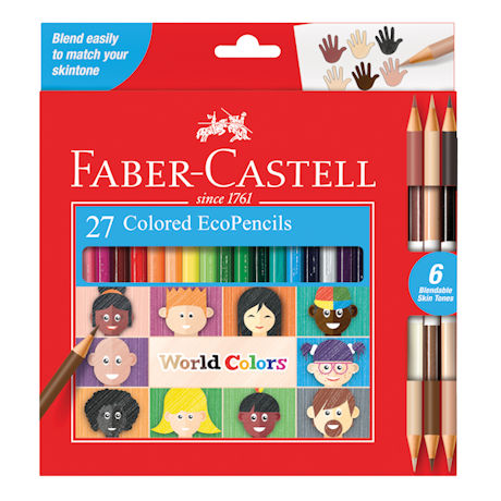 Faber Castell World of Colors Pencil Set
