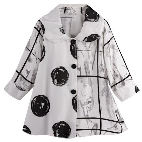 Black-and-White Mod Jacket
