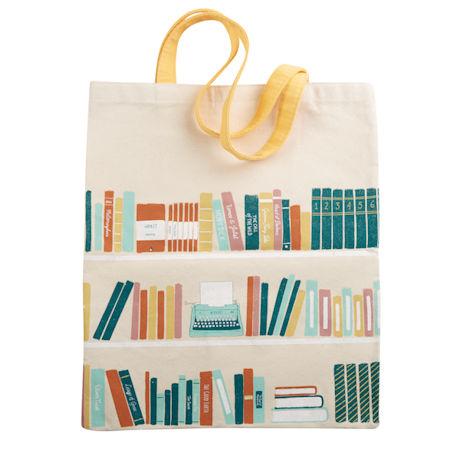 Bookshelves Tote Bag