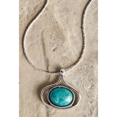 Teardrop Turquoise Necklace