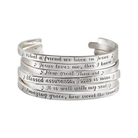 Hymns Cuff Bracelets
