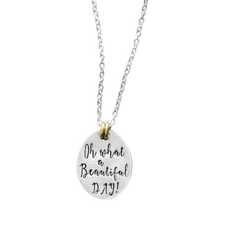Oh What a Beautiful  Day! Necklace