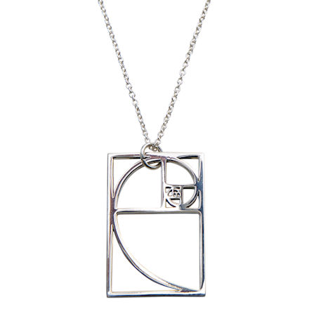 Golden Ratio Pendant Necklace