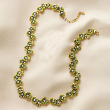The Nympheas of Claude Monet Necklace
