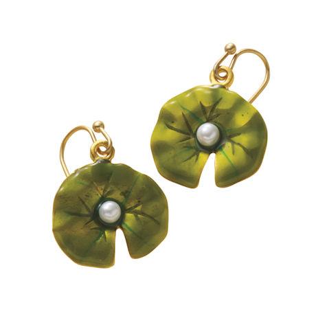 The Nympheas of Claude Monet Earrings
