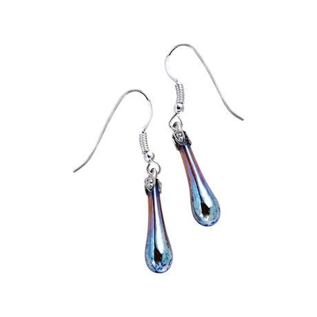 Fenton Art Glass Earrings