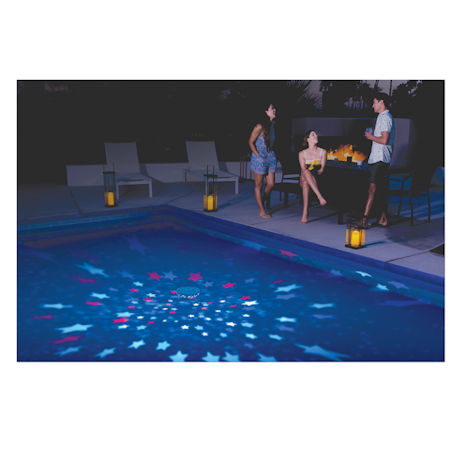 Summer Stars Floating Pool Light