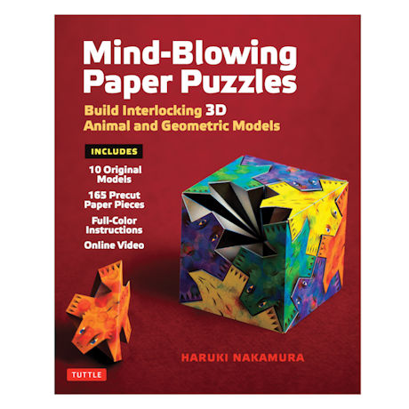Mind Blowing Paper Puzzles Kit
