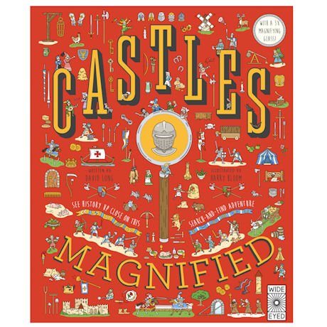 Castles Magnified Search-and-Find Book