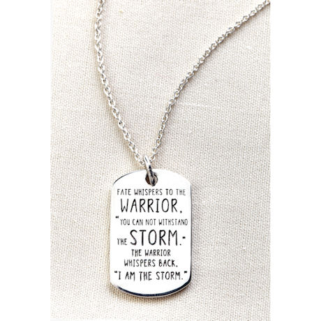 I Am the Storm Necklace