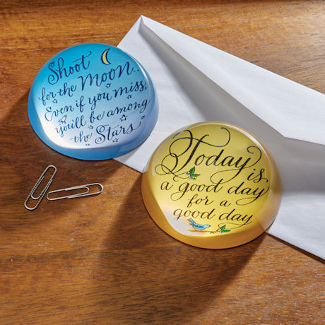 Creative Quote Paperweights