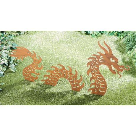 Dragon Yard Stakes Set