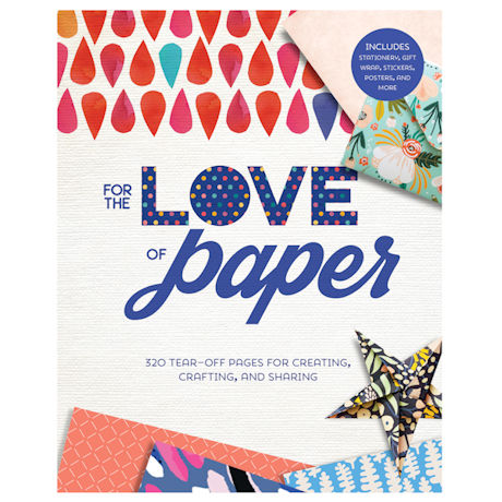 For the Love of Paper Crafting Book