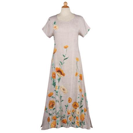 California Poppies Dress
