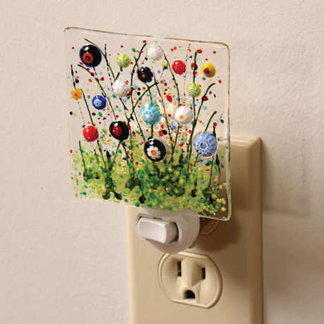 Millefiori Wildflowers Night Light