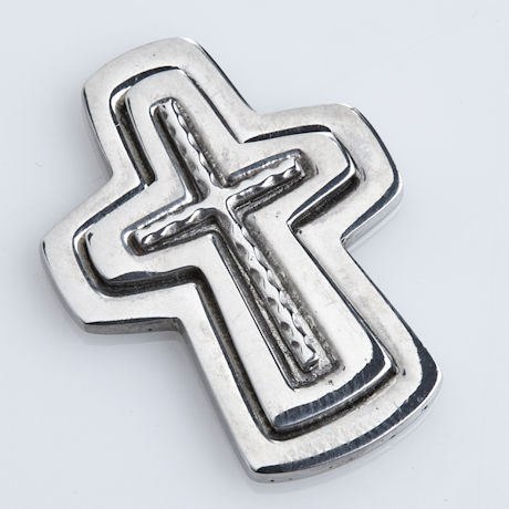 Serenity Prayer Pocket Cross