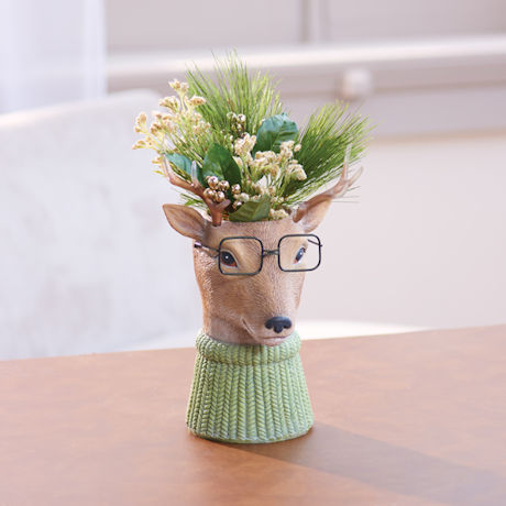 Bespectacled Deer Pot